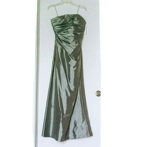 Dresses & Skirts - Nordstrom Formal Strapless Silver Gown 14